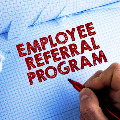 Employee referral recruitment programma